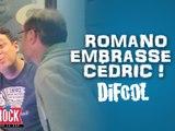 Quand Romano embrasse Cédric !