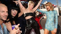 2014 MTV VMA - Which Celebrity Had More Fun? Katy Perry Taylor Swift Miley Cyrus