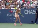 US Open: encore une scène farfelus !