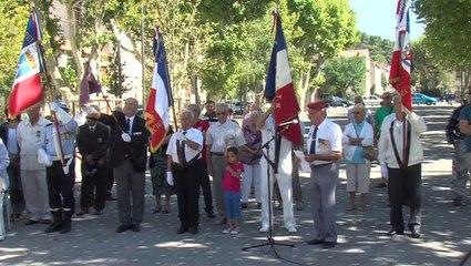 Commémoration de la libération de Gardanne