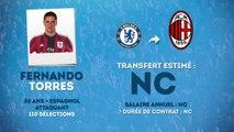 Officiel : Fernando Torres signe à l'AC Milan