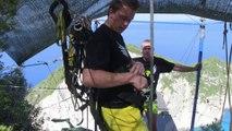 """Le """"rope jumping"""", un saut extrême dans le vide"""