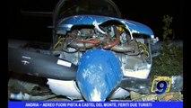 ANDRIA   Aereo fuori pista a Castel del Monte, feriti due turisti stranieri