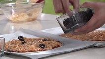 Recette Choumicha:  Recette Pizza aux oignons en sauce rose  شميشة:  بيتزا بالصلصة الوردية والبصل