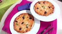 Recette Choumicha: Pizza aux oignons en sauce rose شميشة :  بيتزا بالصلصة الوردية والبصل