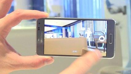 Samsung  Galaxy Alpha, premières impressions