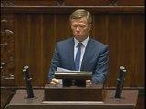 Poseł Piotr Krzysztof Ćwik - Oświadczenie z dnia 27 sierpnia 2014 roku.