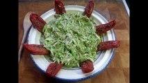 Cuisine Orientale - Salade de Courgettes Epicées