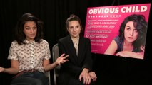 Obvious Child star Jenny Slate: 'I miss the romantic comedies where the women are complex' – video interview
