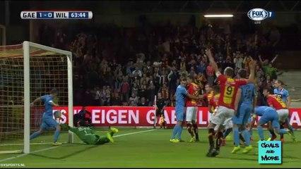 Гол Барт Вриндс · Гоу Эхед Иглс (Девентер) - Виллем II (Тилбург) - 1:0
