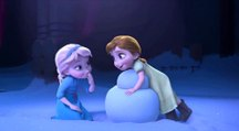 Snowman Clip - The Story of Frozen: Making a Disney Animated Classic