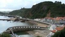 PAISAJE: Ambiente hoy 30 agosto en el puerto de Candás, Asturias