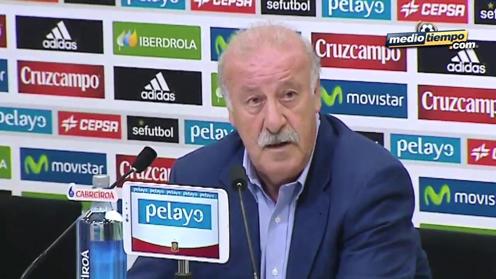 Vicente del Bosque reveló su renovado equipo