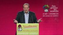 Discours de J.-C. Cambadélis lors de la plénière «Après les élections municipales et européennes, l'unité de la gauche : pourquoi, comment ?» - Université d'été 2014