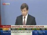 Başbakan Ahmet Davutoğlu, Yeni Kabineyi Açıklarken Rekor Kırdı. İşte Yeni Kabine