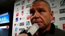 LOU - Brive : Réaction de Didier Casadei, coach de Brive.