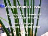 Poisson rouge ski nautique wakeboard