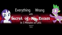 (Parody) Everything Wrong With Secret of My Excess in 3 Minutes or Less