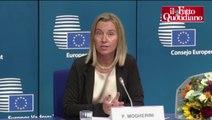 Ue, lady Pesc Mogherini: 'Immane sfida. Ho poca esperienza? Renzi è più giovane di me' - Il Fatto Quotidiano