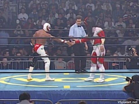 Rey Mysterio vs Jushin Liger - WCW Starrcade 1996