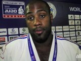 Teddy Riner rend hommage � ses entraineurs