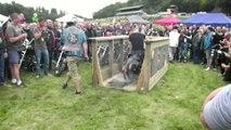 Bagnoles Bikes Show 2014 : burn !