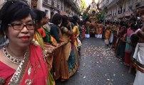 Danses, saris et noix de coco... Paris fête le dieu Ganesh