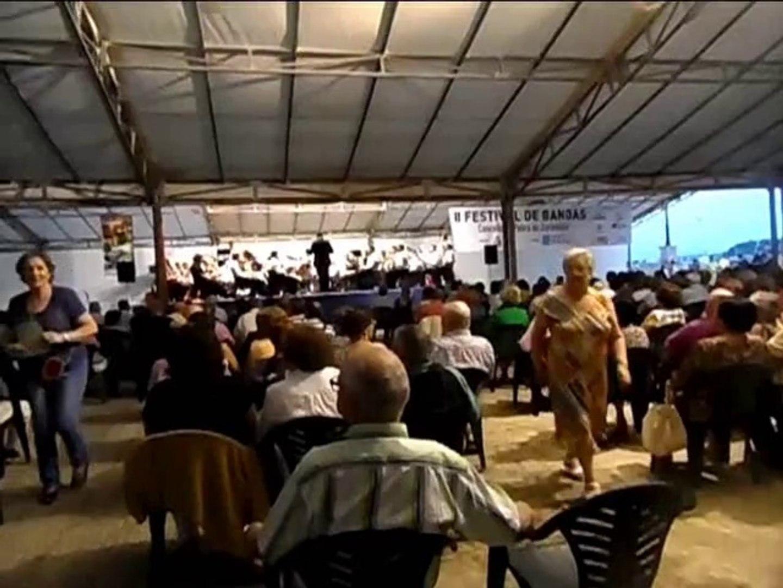 IIConcerto de Bandas de Musíca en A Pobra do Caramiñal. Banda de Musíca de Bandeira