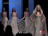 """""""Elie Saab"""" Spring Summer 2007 Bridalwear Paris by Fashion Channel"""