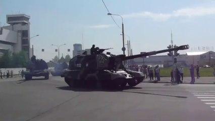 Russian MSTA-S self-propelled