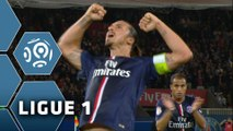 La tête rageuse de Zlatan IBRAHIMOVIC (41ème) / Paris Saint-Germain - AS Saint-Etienne (5-0) - (PSG - ASSE) / 2014-15