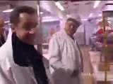 Visite de Nicolas Sarkozy à Rungis
