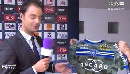 [S.C Bastia] Bordeaux-Bastia 2014-2015, les maillots...
