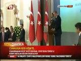 11. Cumhurbaşkanı Abdullah Gül, 12. Cumhurbaşkanı Erdoğan'ı Çankaya Köşkünde Karşılıyor. Seçilmiş Cumhurbaşkanı Erdoğan Görevi Gül'den Devralıyor Ak Parti