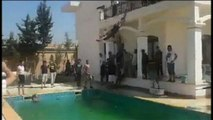 Libye: des jihadistes dans la piscine d'une propriété américaine