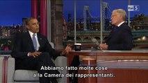 Barack Obama ne veut pas voir David Letterman tout nu (2012)