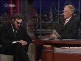 David Letterman Late Show :  Joaquin Phoenix halluciné et hallucinant (2009)