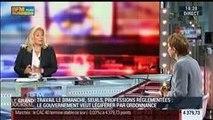 Laurence Parisot, ancienne présidente du Medef, dans Le Grand Journal – 01/09 2/3