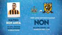 Officiel : Hatem Ben Arfa prêté à Hull City !