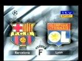 Barça-Lyon Coupet arret de dingue!!!
