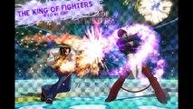 THE KING OF FIGHTERS  Kyo vs Iori ( solo es musica de kof  )