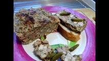 Cuisine Française - Terrine de volaille à l'estragon