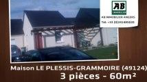A vendre - maison - LE PLESSIS-GRAMMOIRE (49124) - 3 pièces - 60m²