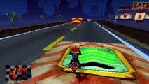 Crash Bandicoot 3 : Warped - Niveau 14 : Road Crash