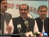 Dunya News- Political parties stand united to protect democracy: Saad Rafique