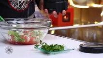 Cuisine Marocaine: Brochettes de Kefta et sa salade marocaine (VF) Choumicha (HD)