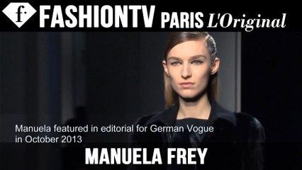 Manuela Frey | Model Talk EXCLUSIVE | Fall/Winter 2014-15 | FashionTV