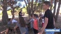 Rentrée des enfants du cirque Arlette Gruss à Fréjus