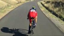 Vuelta 2014 - La violente chute de Nairo Quintana