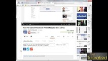 Basic Tutorial - How To Post A YouTube Video On Facebook _ 2014 _ How To Share YouTube Videos On Facebook
